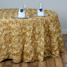 wedding linens for sale 132 satin ribbon rosette tablecloth designer wedding