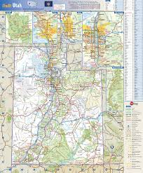 Map Of Colorado State by Utah State Wall Map By Globe Turner