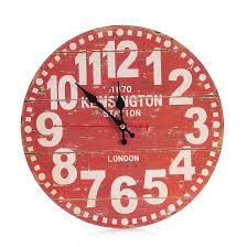 Horloge Murale Silencieuse by Achetez En Gros Antique En Bois Horloge Murale En Ligne à Des