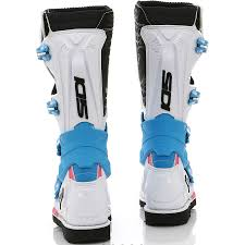 motocross boots sidi new sidi x 3 lei ladies mx white pink blue premium womens