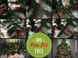 pre lit christmas tree diy pre lit christmas tree tutorial gabrielle