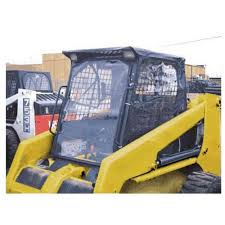 bobcat door glass skid steer enclosures skid steer attachments farm acreage