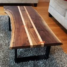 Plans For Building A Wood Coffee Table by Best 25 Live Edge Table Ideas On Pinterest Natural Wood Table