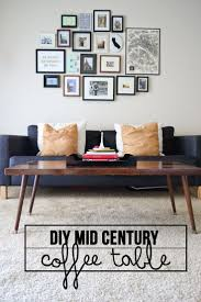 Tables Living Room by Best 25 Mid Century Coffee Table Ideas On Pinterest Mid Century