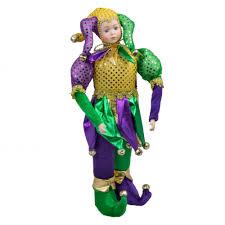 mardi gras doll 16 mardi gras standing musical jester doll mg15 194