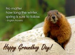 groundhog day cards no matter how the winter is sure to follow happy