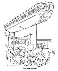 train coloring pages 020
