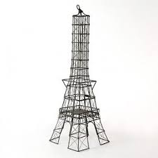 eiffel tower centerpiece 22 eiffel tower sculpture candle holder wire frame