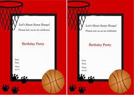 basketball birthday invitations cloveranddot com