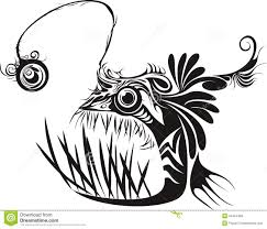 18 angler fish tattoo designs