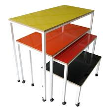 Nesting Desk Bk Library Interiors Nesting Tables With Whiteboard
