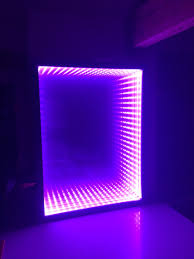 Bathroom Mirror Cut To Size Infinity Mirror Diy It U0027s Easy Made From A Box Picture Frame Led