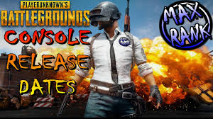 player unknown battlegrounds xbox one x release player unknown battlegrounds console release dates youtube
