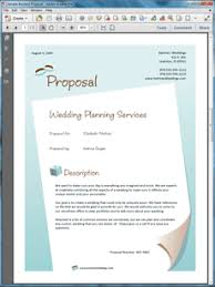 wedding cake quote template planner services sle
