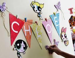 Powerpuff Girls Decorations Power Puff Birthday