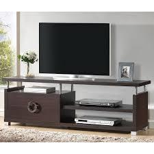 home theater stand amazon com baxton studio stanton tv stand kitchen u0026 dining
