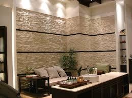 steinwand fã r wohnzimmer dekoideen wohnzimmer poipuview