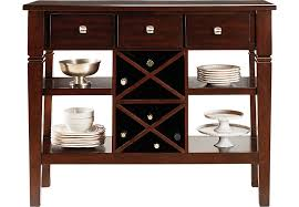 Country Buffet And Hutch Dining Room Buffet Servers And Credenzas