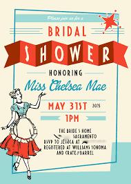 50 s themed bridal shower invitation wording wedding invitation