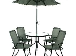 Patio Furniture Dining Sets With Umbrella - patio 7 patio dining set with umbrella wooden patio furniture