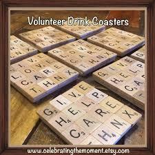 volunteer gifts volunteer appreciation 10 drink coasters