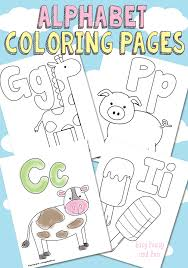 free printable alphabet coloring pages easy peasy fun