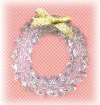 How To Make Christmas Ornaments Out Of Beads - christmas pic made from lace u0026 tri beads here all of the 24