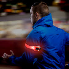 is led light safe safety led light waterproof armband reflective cycling running