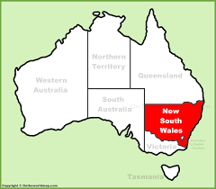 map of new south wales new south wales state maps australia maps of nsw new south wales