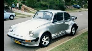 volkswagen old beetle modified poor man u0027s porsche 959 tries to cover its vw bug roots