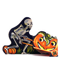 vintage halloween paper decorations home decorating interior