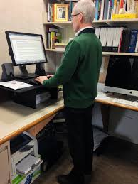 replace your chair with a standing desk harvard health