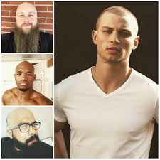 men u0027s shaved head styles for 2017 men u0027s hairstyles and haircuts