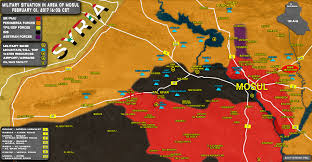Highway Map Popular Mobilization Units Launch Advance Along Sinjar Tal Afar
