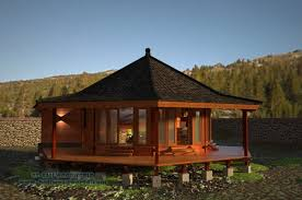 octagon house plans trend balinese houses designs nice design gallery 239