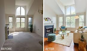 Staging Before And After by Before And After A Home Stager Reveals Her Secrets