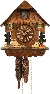 1 day movement 21cm chalet style cuckoo clock by anton schneider