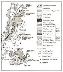 metamorphic rocks of shetland yell unst and fetlar earthwise