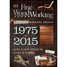 fine woodworking magazine archive 1975 2015 dvd taunton press