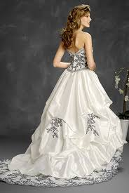 silver wedding dresses white and silver wedding dresses reviewweddingdresses net