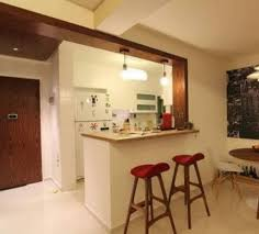 Kitchen With Bar Table - kitchen design with bar counter