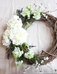 hydrangea wreath make a hydrangea wreath for your front door