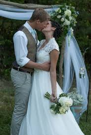 casual rustic wedding dresses the casual attire for the groom would work awesome for our