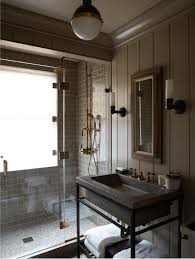 taupe bathroom floor tiles design ideas