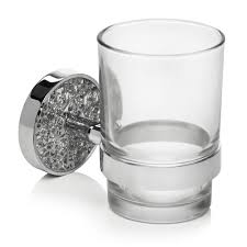 wilko mosaic glass and holder silver at wilko com
