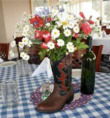 Cowboy Table Decorations Ideas Download Cowboy Boot Vase Wedding Decorations Wedding Corners
