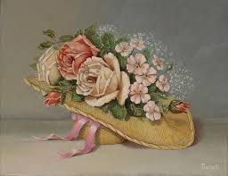 Shabby Chic Rose by Shabby Chic Roses Painting By Radoslav Nedelchev
