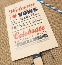What To Put On Wedding Programs Lovely Ideas For An Unforgettable Summer Wedding Invitaciones