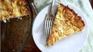 this quiche with a hash brown crust is the brunch dish of your