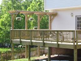 low deck with pergola tags magnificent deck with pergola amazing